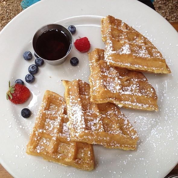 Belgian Waffle @ Blue Dahlia Bistro