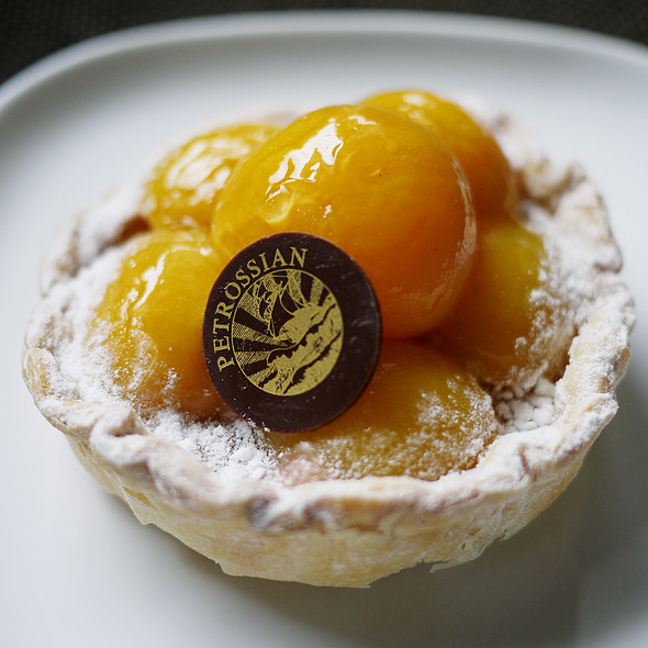 Apricot Tartlet - Petrossian - New York, New York, NY