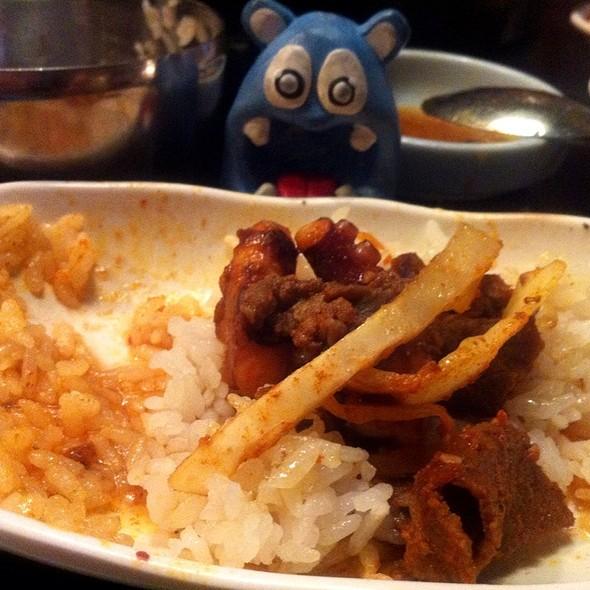 Beef & Octopus Chul Pan @ Honey Pig Gooldaegee Korean Grill