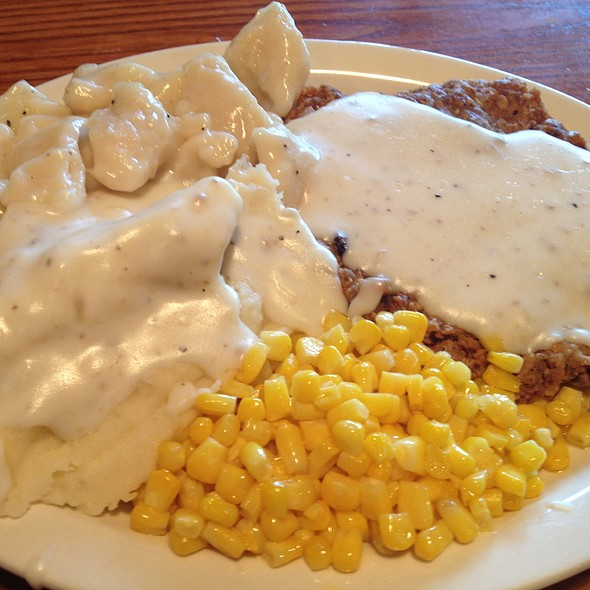 Country Fried Steak @ Cracker Barrel Old Country Store