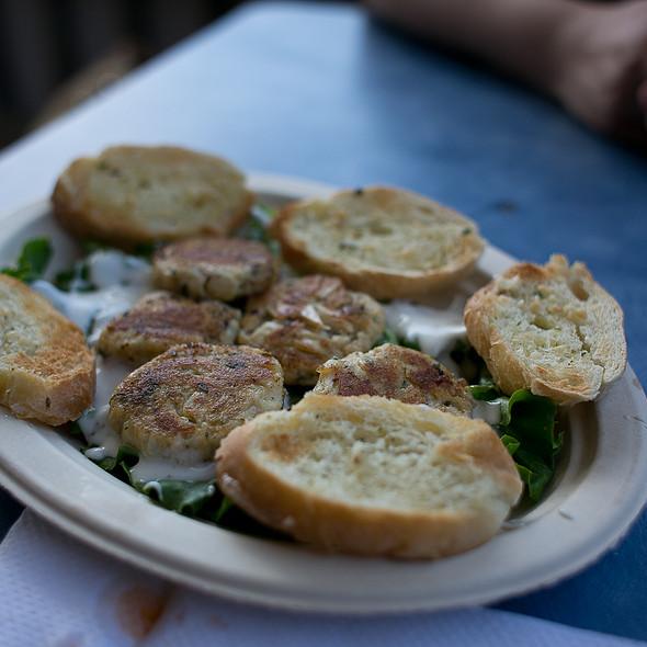 Mini Crabcakes @ Jolly Roger Pub & Marina