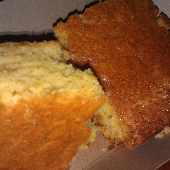 Corn Bread @ Hill Country BBQ
