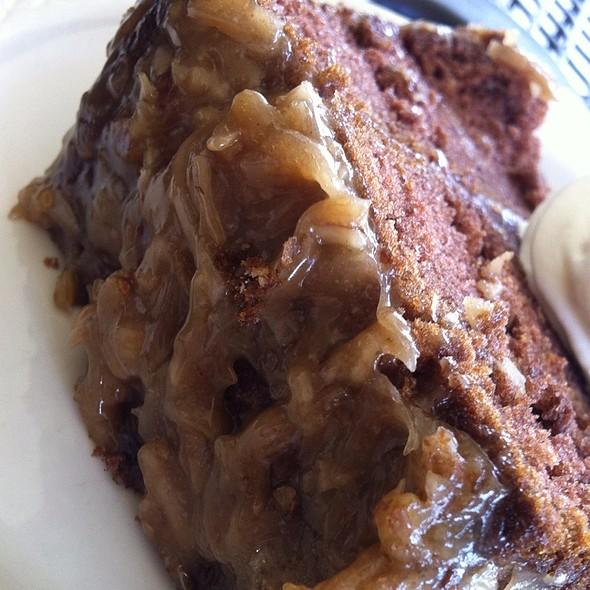 German Chocolate Cake @ Garden Bistro