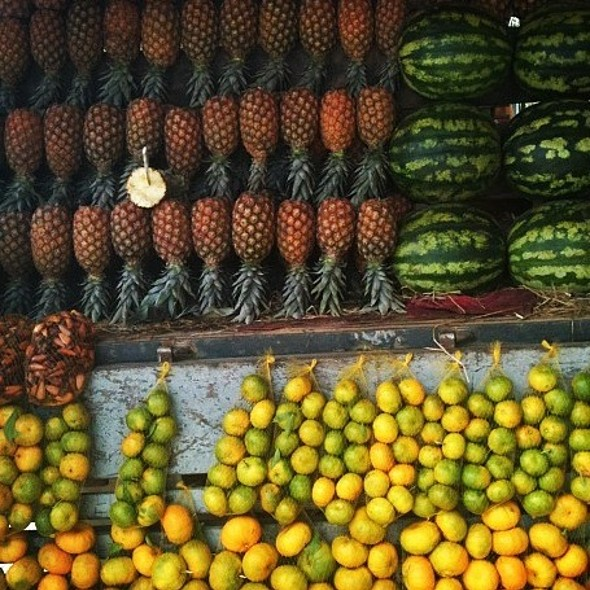 Frutas @ Feira Na Praça Nereu Ramos