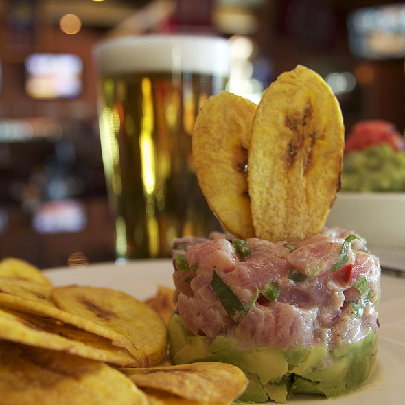 Tuna Crudo @ Coldbrews Sports Bar and Grill