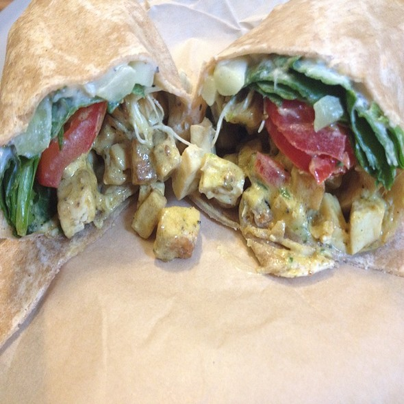Curry Tofu Wrap @ HipCityVeg