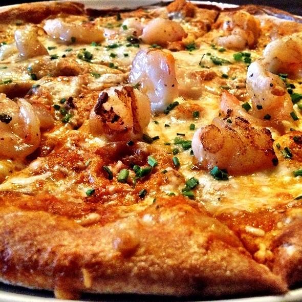 Shrimp Diablo Pizza - TruFire Kitchen & Bar - Frisco, Frisco, TX