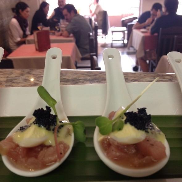 Tuna Tartare @ Restaurante Nama Baru