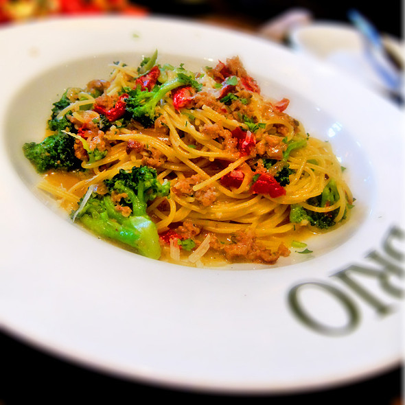 Roasted Vegetable Pasta @ Brio Tuscan Grille - Towne Square