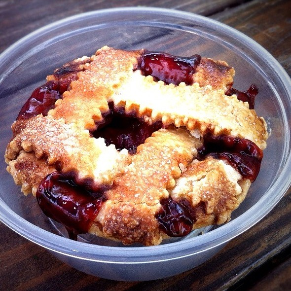 Cherry Cola Pie @ Off Site Kitchen