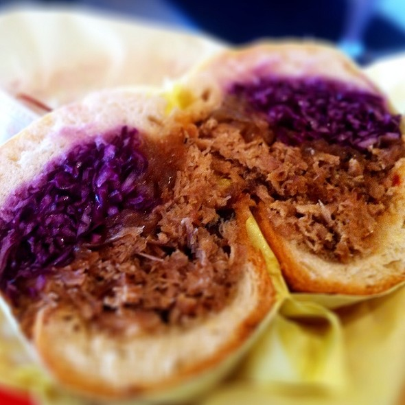 BBQ Pulled Pork Sandwich @ The Oinkster