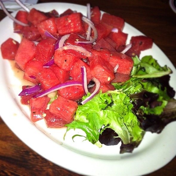 Watermelon Salad @ Iron Barley Eating Estblshmnt