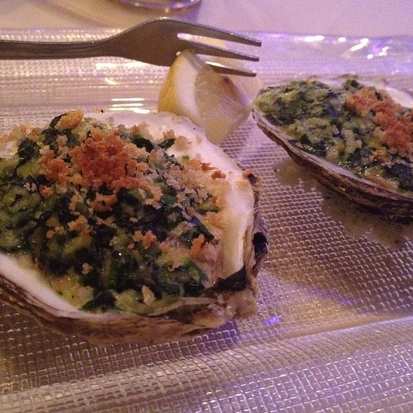 Oysters Rockefeller @ The Astor Room
