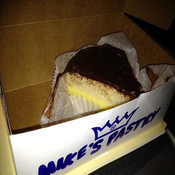 Boston Cream Pie @ Mike's pastry