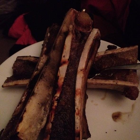 Grilled Bone Marrow With Shallots And Toast @ Hawksmoor