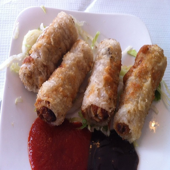 Spring Rolls @ Song Que Cafe Ltd