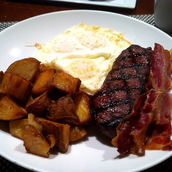 Angus Sirloin And Eggs - Islands Dining Room at Loews Royal Pacific Resort, Orlando, FL