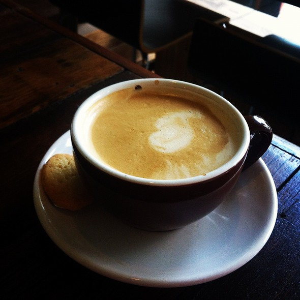 Flat White @ Kooka Cafe