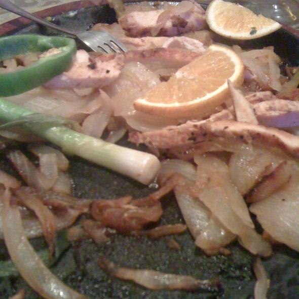 Chicken Fajitas @ La Cantina Mexican Grill