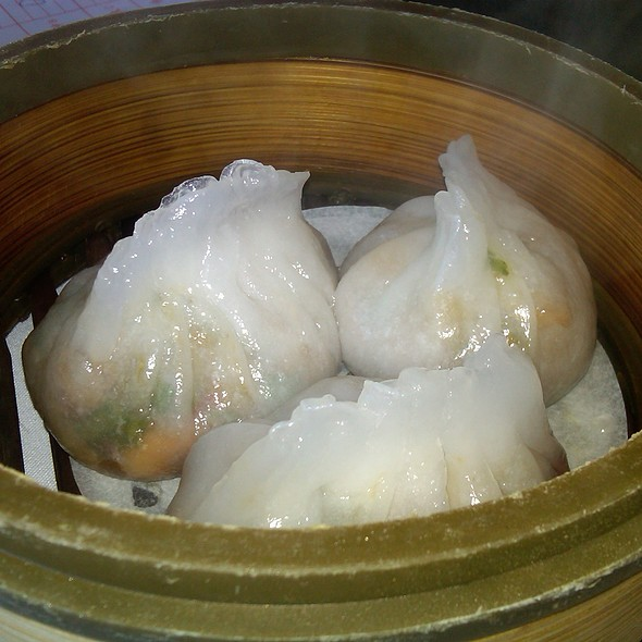 Steamed pork dumplings @ Mayflower Seafood Restaurant