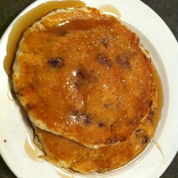 Blueberry Pancakes @ Davidson's Restaurant