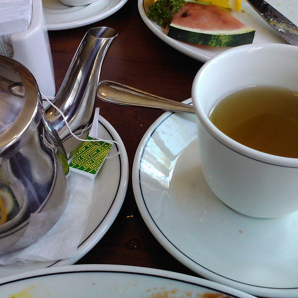 Camomile Tea @ Beacher Cafe