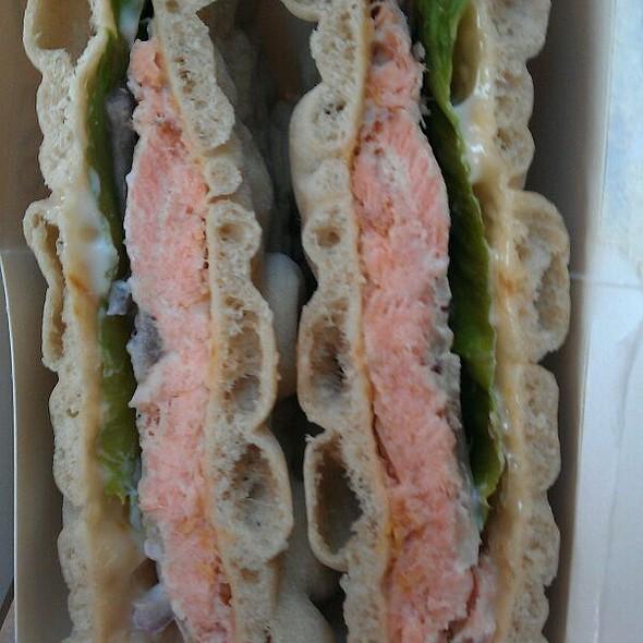 Salmon Sandwich @ Helsinki-Vantaa Airport