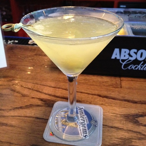 Dirty South Martini @ Double Wide Bar & Southern Kitchen