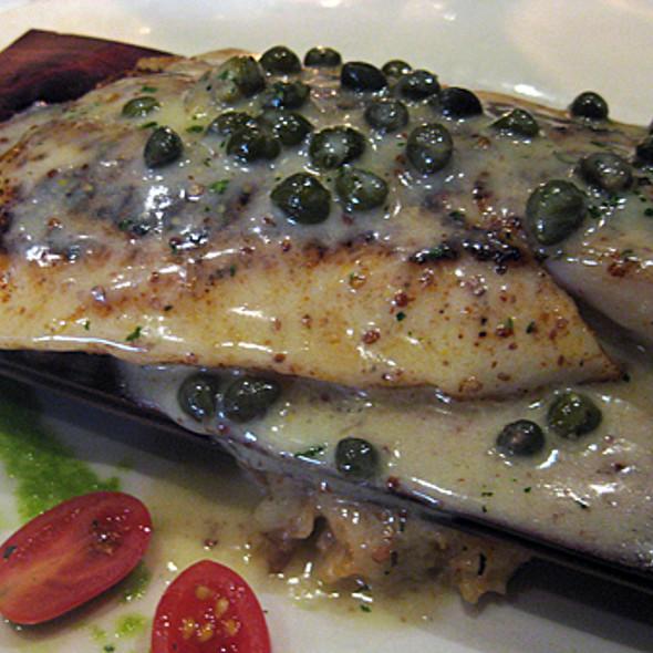 cedar plank roasted redfish - Mansurs On the Boulevard, Baton Rouge, LA