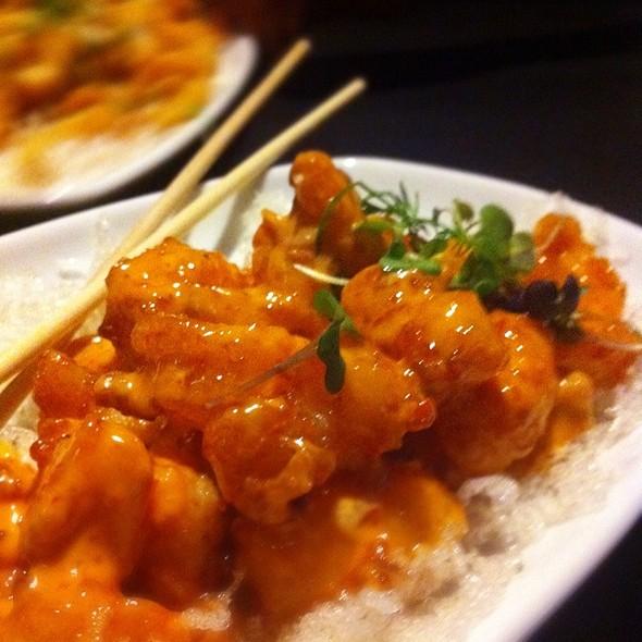 """Pow Pow"" Rock Shrimp  @ Red"