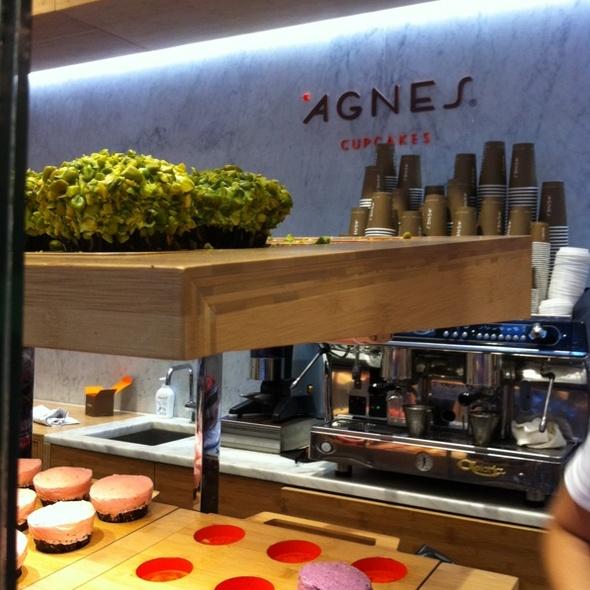 Pistacchio Cupcake @ Agnes Cupcakes
