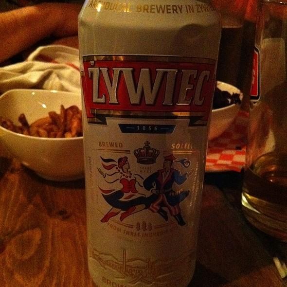 Zywiec Beer @ Hrvati Bar