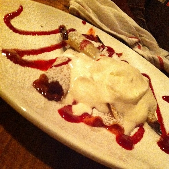 Crepes W/ Nutella And Strawberry Jam @ Hrvati Bar