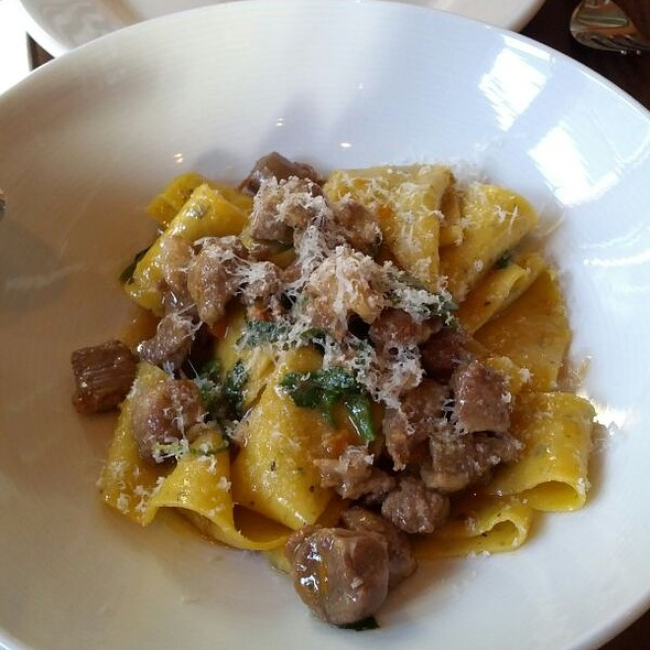 Rosemary Pappardelle With Braised Lamb @ Flour and Water