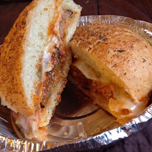 Roasted Eggplant Sandwich @ El Appetiz- Glendora