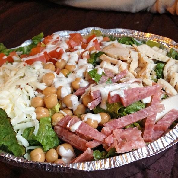 Italian Chopped Salad @ El Appetiz- Glendora
