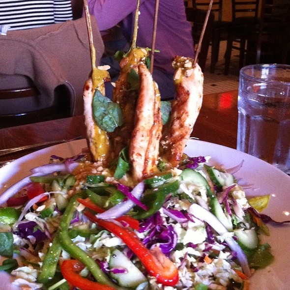Thai Chicken Satay Salad @ Atlas Restaurant