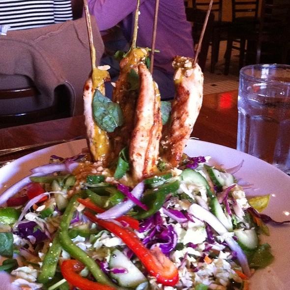 Thai Chicken Satay Salad @ Atlas Restaurant