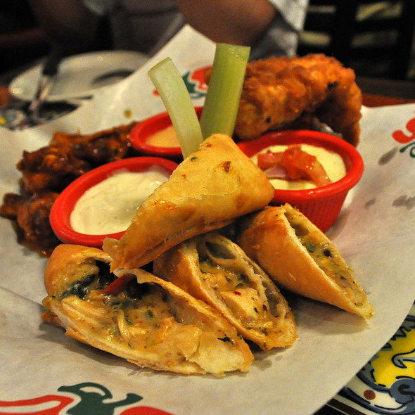 Trio Platter @ Chili's Grill and Bar
