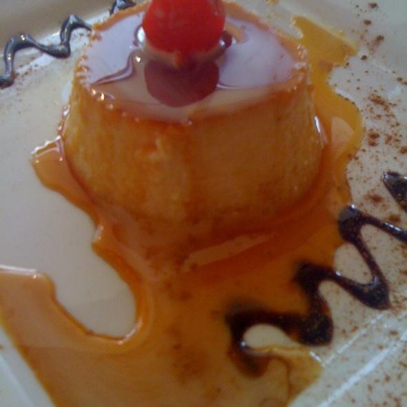 Flan - De La Vega Restaurante Y Galeria, Deland, FL
