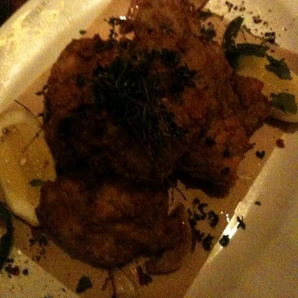 fried chicken @ Wayfare Tavern
