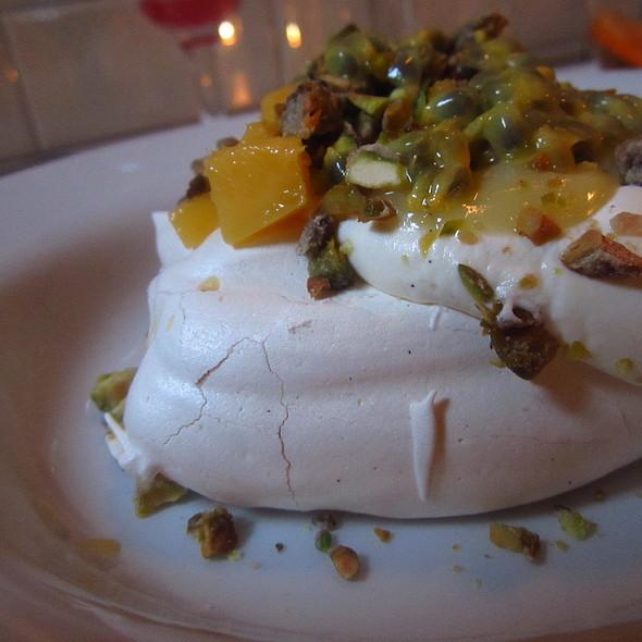 Mango, Lime & Passionfruit Pavlova @ Mishkin's