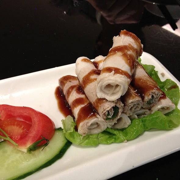 蒜泥白肉 - Sliced pork in garlic sauce @ 鹿港小镇