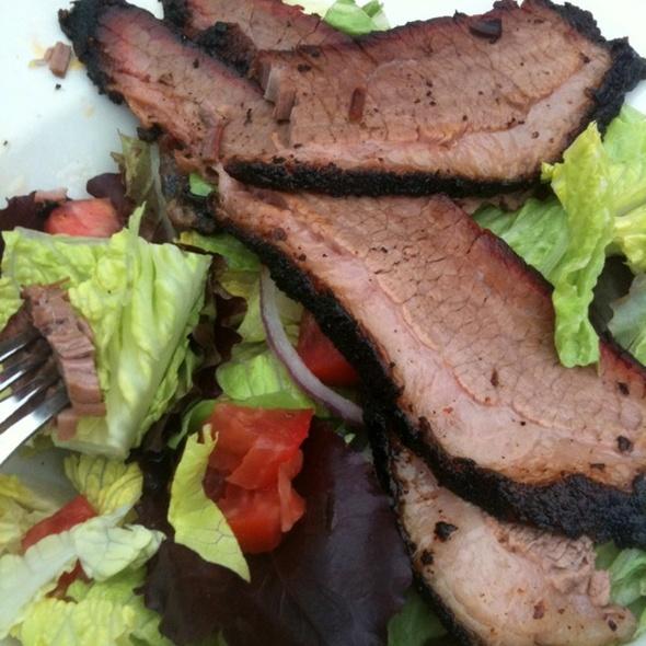 BBQ Salad @ Fox Brothers Bar BQ