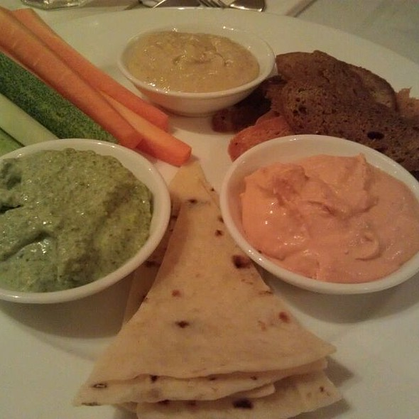 Dips With Crudites @ Au Parc