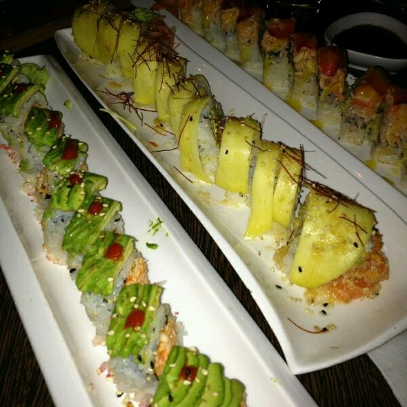 Sexy Mexican, Mellow Yellow, Strawberry Fields @ Niu Japanese Fusion Lounge