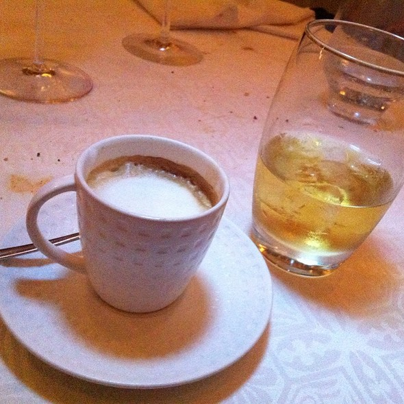 Italian Irish Coffee - Machiato & Jameson Whiskey