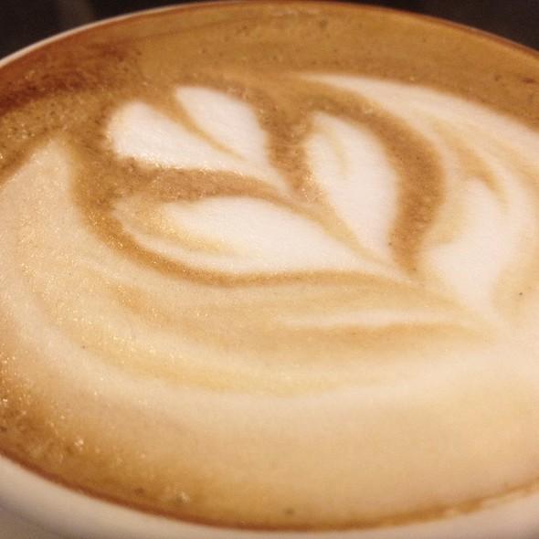 Latte @ Simons Coffee Shop