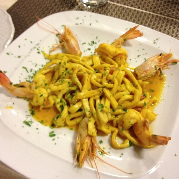 Scialatielli ai frutti di mare @ Ristorante Ruccio