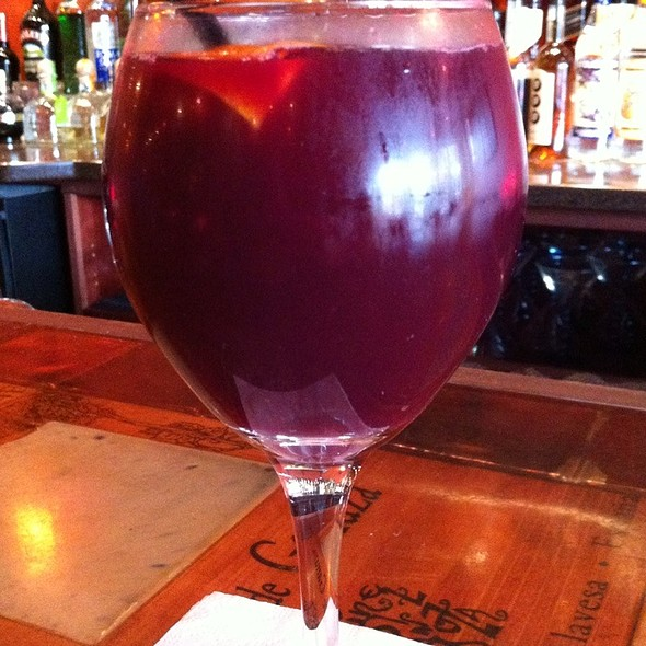 Sangria - Solea Restaurant and Tapas Bar, Waltham, MA